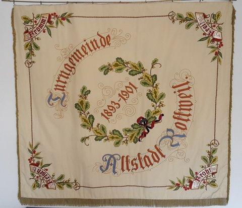 Vereinsfahne 1901